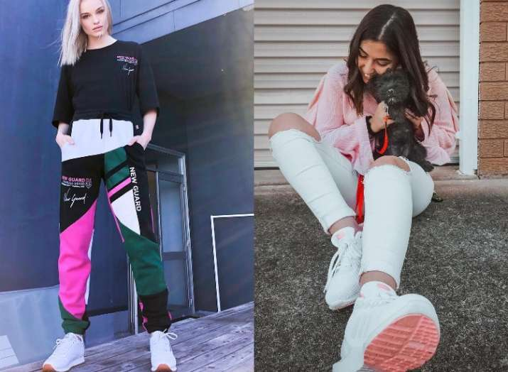 How to pair sneakers with western outfits for women