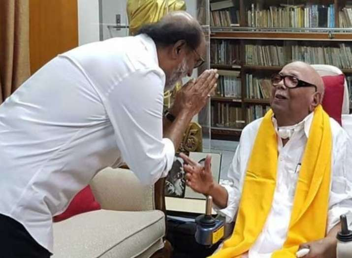 RIP Karunanidhi: Rajinikanth and other Bollywood celebrities mourn