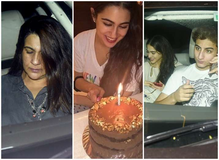 Sara Ali Khan Birthday Bash Amrita Singh Bhumi Pednekar Attend