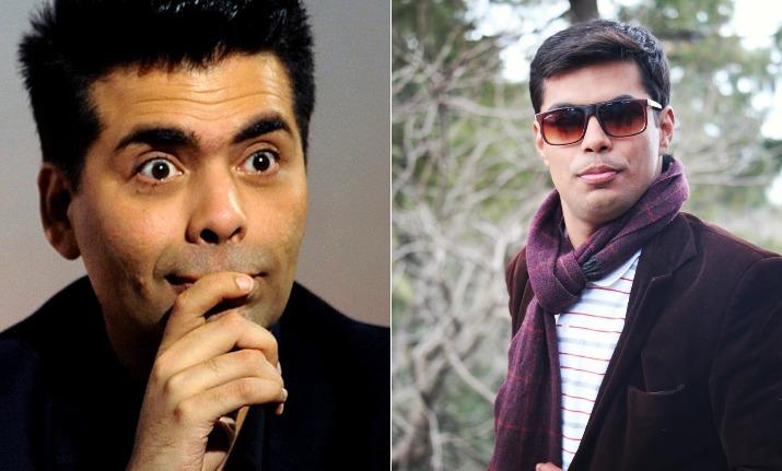 Karan Johar doppelganger found