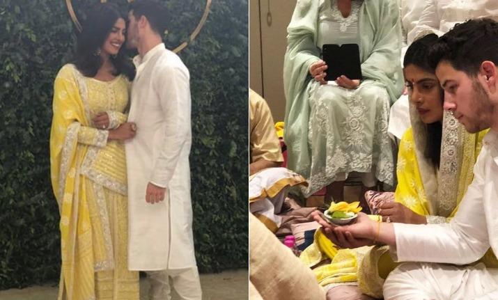Priyanka Chopra and Nick Jonas' Roka ceremony