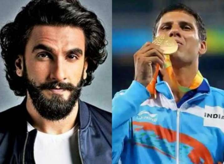India Tv - Devendra Jhajharia- Ranveer Singh
