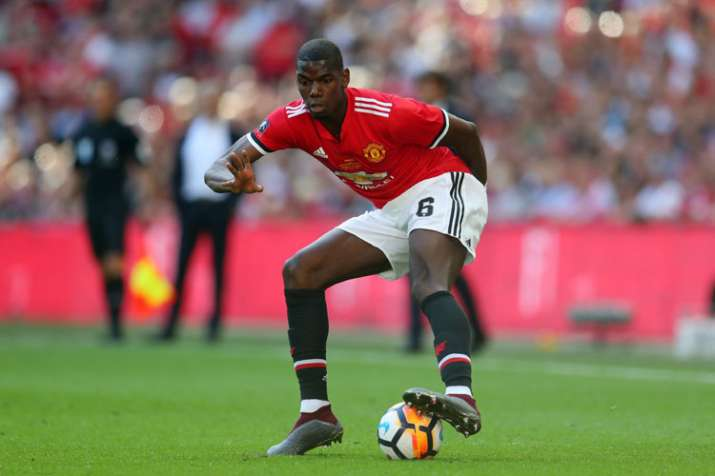 India Tv - A file image of Manchester United star Paul Pogba.