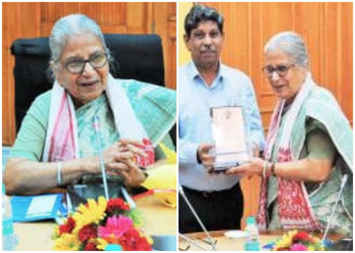 Pratibha Agrawal awarded the Sahitya Akademi Translation