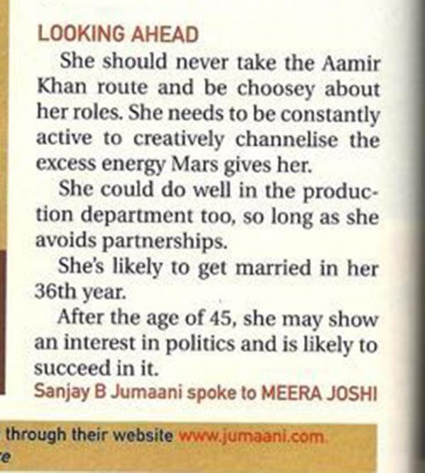 India Tv - Sanjay BJumaani's prediction for Priyanka Chopra