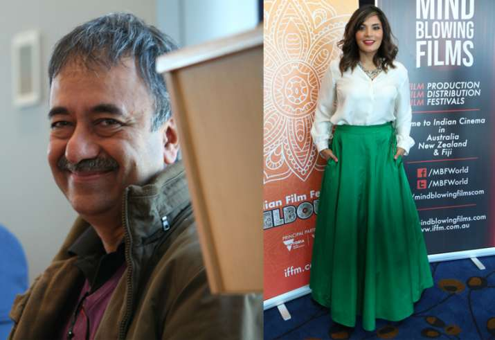 Rajkumar Hirani and Richa Chadha