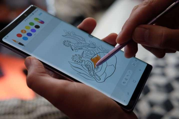 India Tv - Samsung Galaxy Note 9