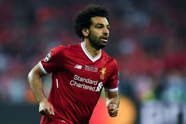 India Tv - A file image of Liverpool star Mohamed Salah.