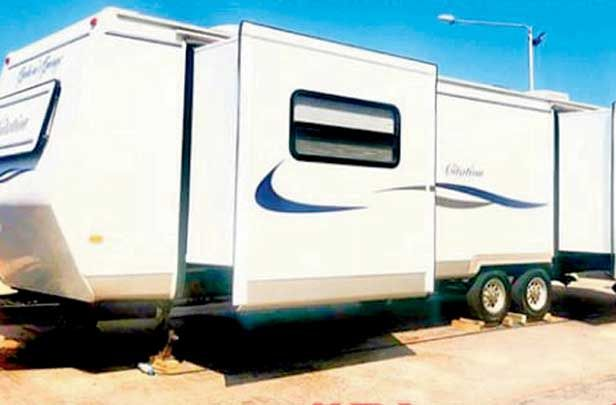 India Tv - Salman Khan's vanity van