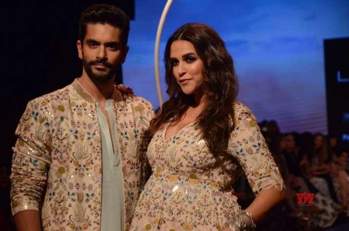 India Tv - Neha Dhupia and Angad Bedi