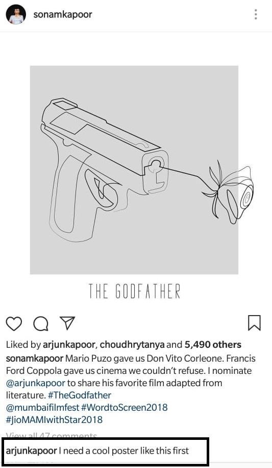 India Tv - Arjun Kapoor demands 'cool poster' from sister Sonam Kapoor