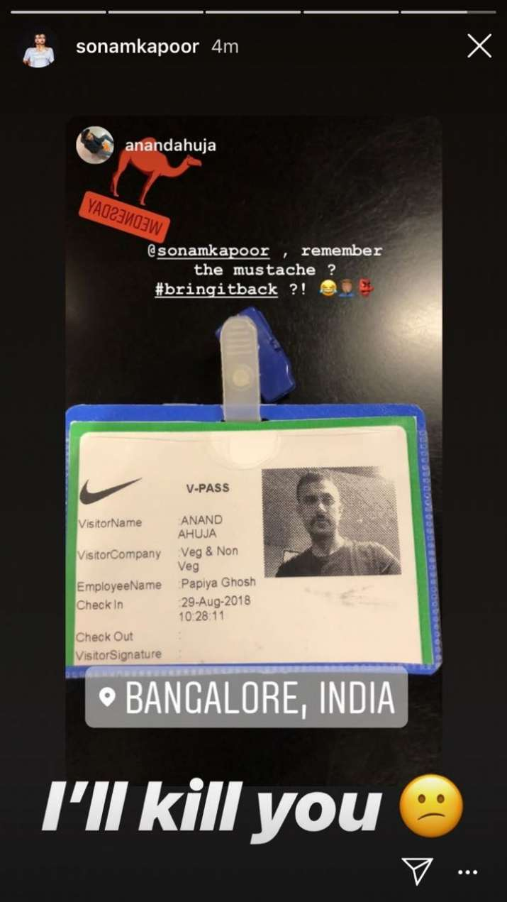 India Tv - Sonam Kapoor's Instagram Story