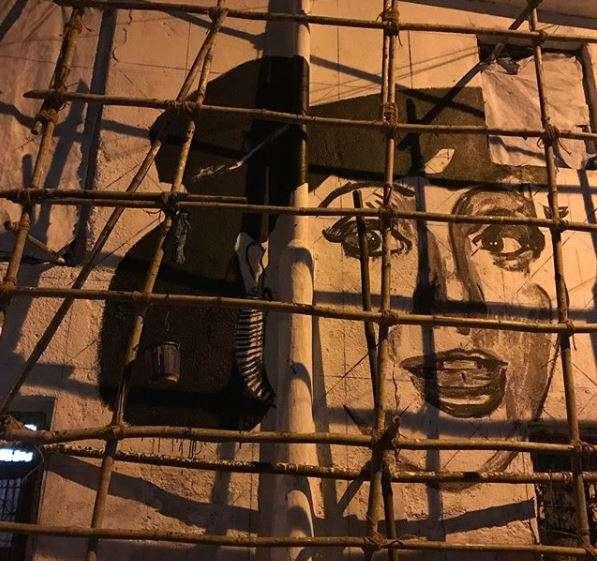 India Tv - Sridevi's mural