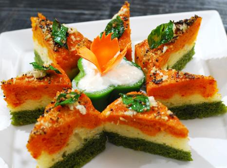 India Tv - From tiranga dhokla to layered sandwich, feast on these 5 tricolour-themed food items this Independence day