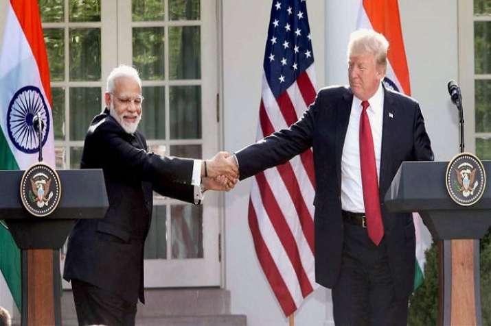 Indian Prime Minister Narendra Modi and US President Donald