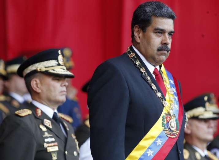 Venezuelan President Nicolas Maduro targeted with drone