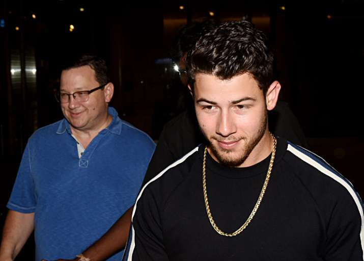 India Tv - Nick Jonas arrived in Mumbai with parents.