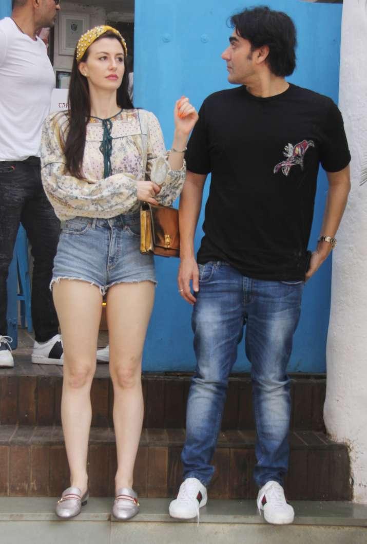 India Tv - Arbaaz Khan and his girlfriend