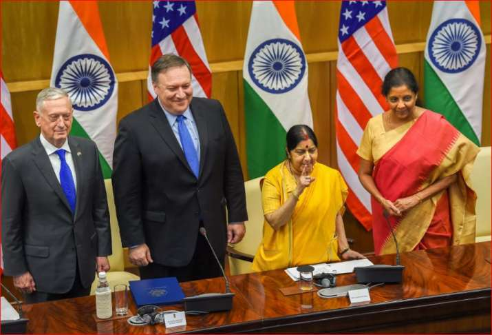 22 Dialogue China Welcomes Indo Us Talks Declines To Comment On