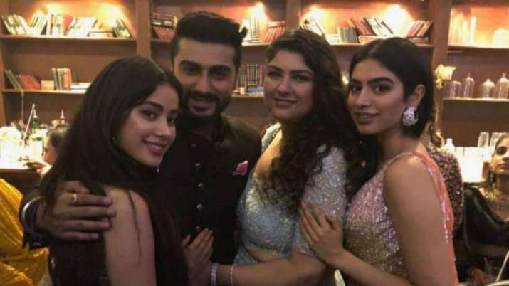 India Tv - Arjun Kapoor with his sisters