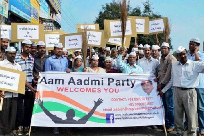Former BJP leader Sandeep Shastri joins Aam Aadmi Party | India News – India TV