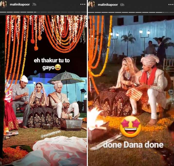 India Tv - Sumeet Vyas Ekta Kaul wedding