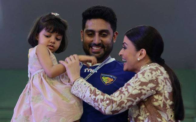 Image result for ABHISHEK AISHWARYA DAUGHTER