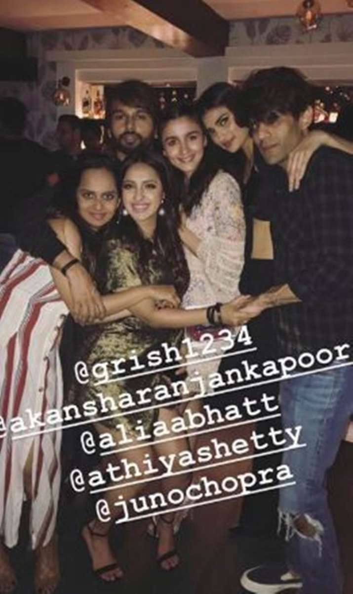 India Tv - Inside pictures of Alia Bhatt's best friend Akansha Ranjan's birthday bash