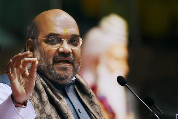 A file photo of BJP president Amit Shah