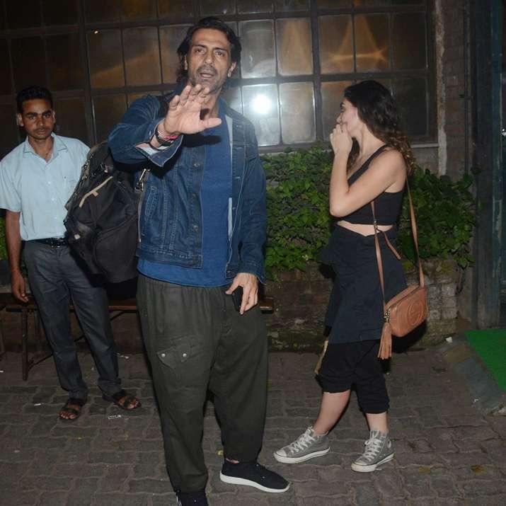 India Tv - Arjun Rampal with rumoured gf