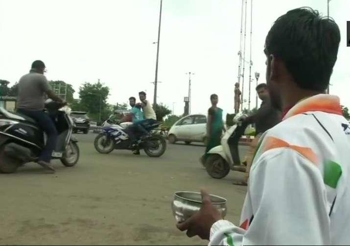Manmohan Singh Lodhi, a national-level para-sprinter, is