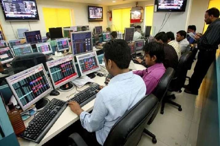 Markets open in red; Sensex loses 200 points, Nifty trails