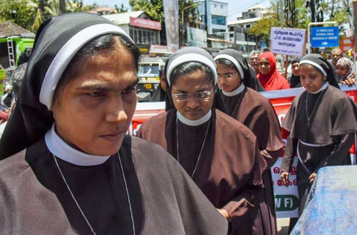 Kochi: Nuns, supported by women from the Muslim community,