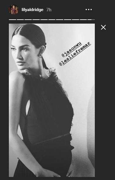 India Tv - Lily Aldridge walks runway at New York Fashion Week