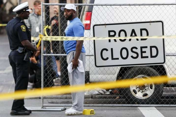 At least four people, including a gunman, were killed in a