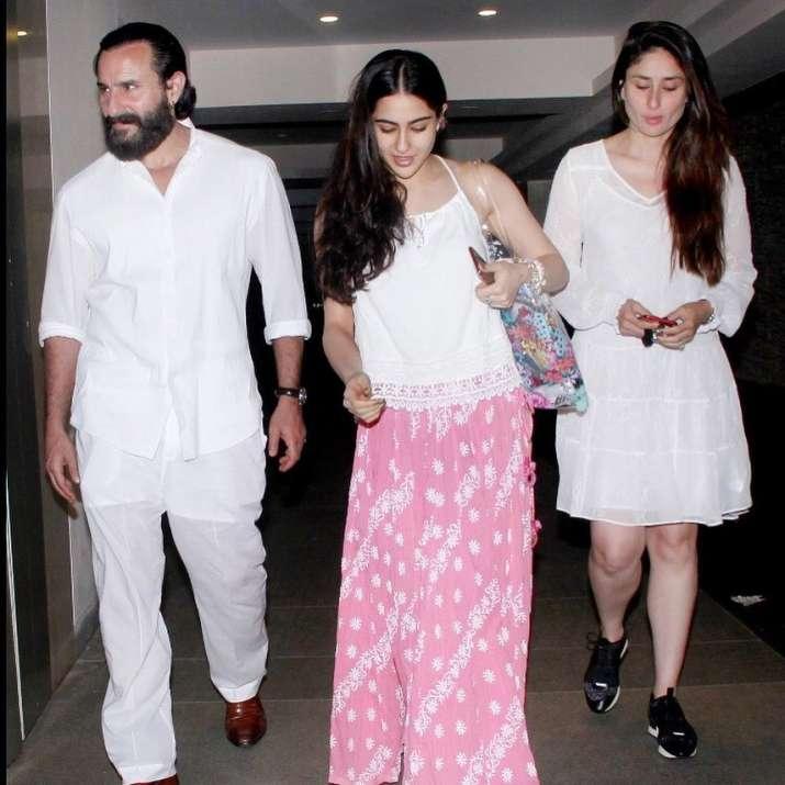 India Tv - Sara Ali Khan to make Koffee debut with father Saif Ali Khan