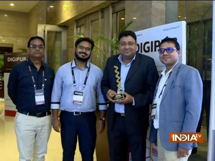 India Tv - India TV team, Digipub awards