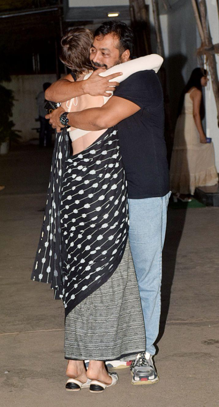 India Tv - KalkiKoechlin and Anurag Kashyap