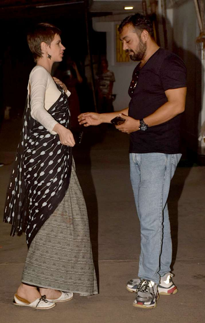 India Tv - Kalki Koechlin and Anurag Kashyap