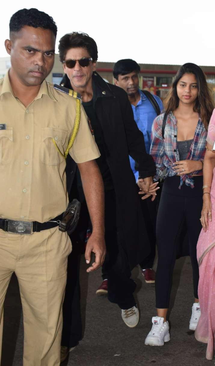 India Tv - Shah Rukh Khan and Suhana Khan