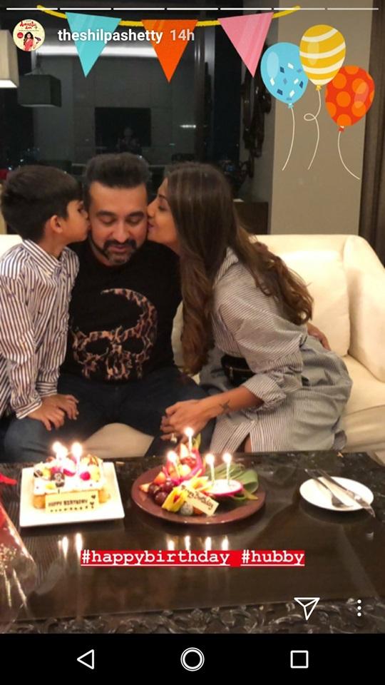 India Tv - Raj Kundra's birthday celebration