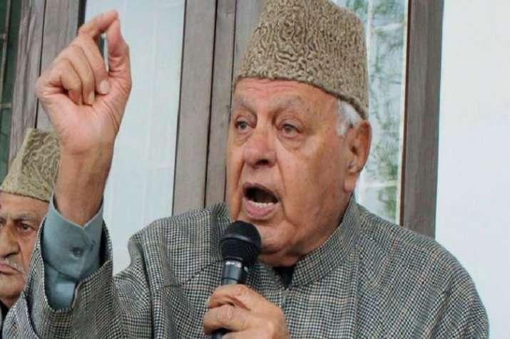 Former J-K CM Farooq Abdullah