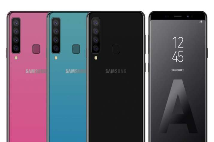 on sale 35681 97e50 Samsung Galaxy A9 Star Pro with 4 Rear Cameras and Galaxy A7 (2018 ...