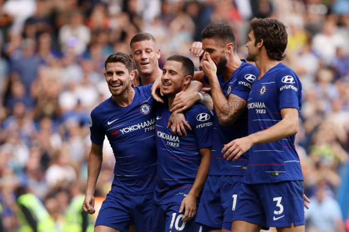 India Tv - Hazard helped Chelsea beat Cardiff 4-1