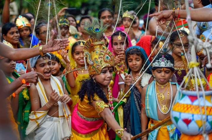 India Tv - Krishna Janmashtami 2018 Celebration: From West Bengal to Tamil Nadu, this is how India celebrates festival