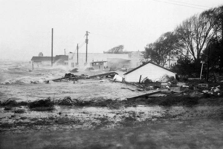 India Tv - Florence could hit the Carolinas harder than any hurricane since Hurricane Hazel packed with 130 miles per hour winds 1954 destroyed 15,000 buildings and killed 19 people in North Carolina back in 1954.