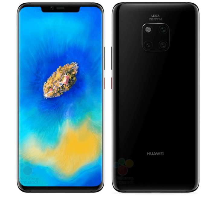 India Tv - Huawei Mate 20 Pro with triple rear cameras tipped in Twilight, Blue and Black colours