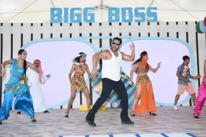 India Tv - Salman Khan at Bigg Boss 12 launch in Goa