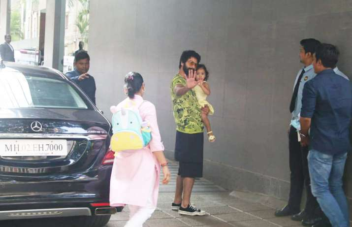 India Tv - Shahid Kapoor with Misha