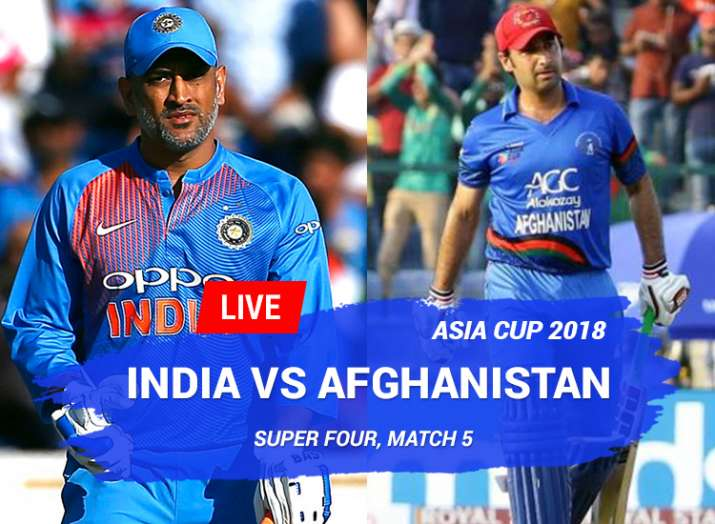 India vs Afghanistan, Asia Cup, Watch IND vs AFG Match Free Online